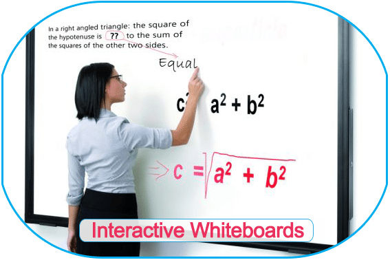 NPS Interactive whiteboards