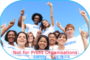 Not for Profit labelled